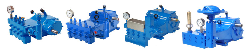 Rostor high pressure pumps